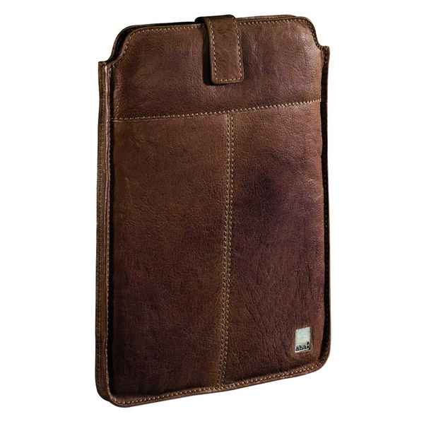 aha Tablettasche Vintage Big 00119929 für Apple iPad Leder tan