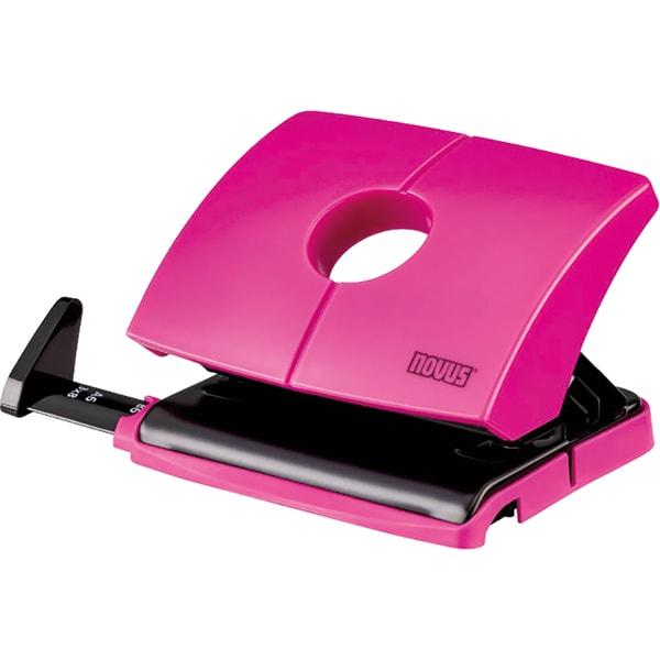 Novus Locher B216 happy-pink Nr. 025-0621. ca. 16 Blatt