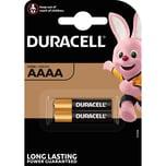 Duracell Batterie Alkaline Security AAAA Nr. 041660. 1.5V Ultra. PA= 2Stk.LR8D425