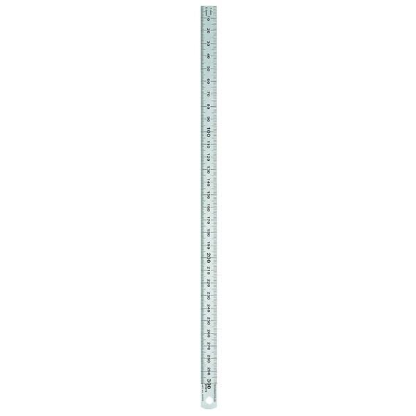 Rumold Stahllineal 30cm 1/2mm Teilung Nr. 323703 rostfreier Edelstahl