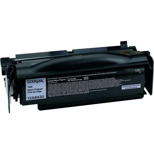 Lexmark Toner 12A8420 für T430 schwarz
