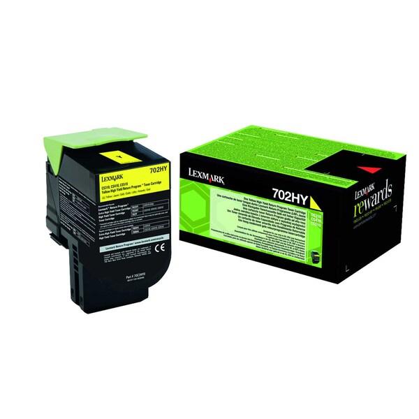 Lexmark Toner 70C2HY0 3.000Seiten gelb