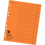 Falken Trennblatt A4 blanko orange Nr. 80001704 230g/m² Manilakarton (100 Stück)