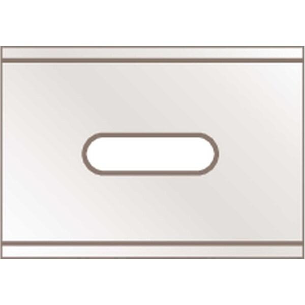 Martor Ersatzklinge Nr. 92 9266 Breitschliff PA 10 Stück 4-fach