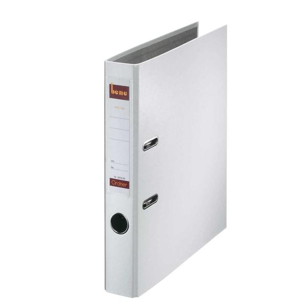 Bene Ordner A4 52 mm PP weiß 291600 WS mit WechselfensterKunststoff