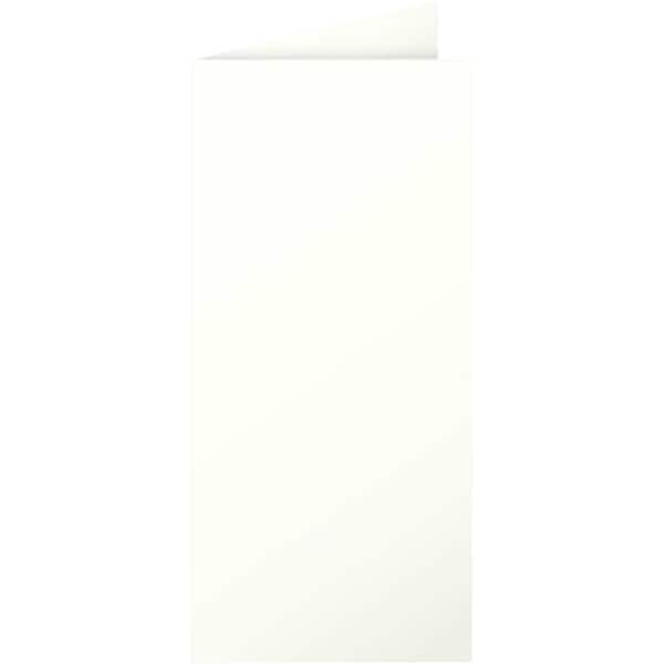 Clairefontaine Faltkarte Pollen DL 210g Nr. 12517C elfenbein PA 25 Stück