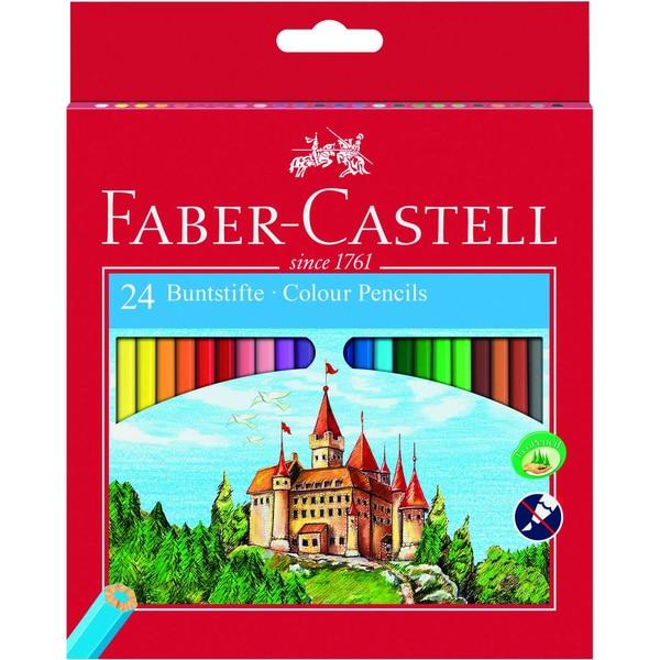 Faber-Castell Farbstift Castell Nr. 111224 sortiert PA 24Stk