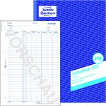 Zweckform Aufmaßbuch A4 Nr. 1318 100Blattnicht durchschreibend
