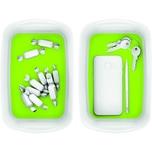 Leitz Aufbewahrungsschale MyBox weiß/grün Nr. 5257-10-54. 24.6x0.98x16cm