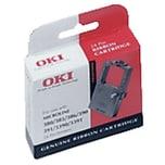 Oki Farbband 09002309 für Microline 380/390/391 Nylon schwarz