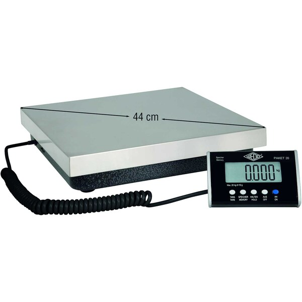Wedo Waage PAKET 50 mit Netzgerät elektronisch 50775020