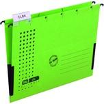 Elba Hängemappe chic Ultimante grün Nr. 100552104 seitlichen Leinenfrosch