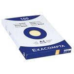 ExacomPTA Karteikarte A4 blanko gelb Nr. 10326E. PA= 100Stk