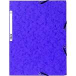 ExacomPTA Eckspanner Nature future A4 Nr. 55508E 400g 3 Klappen violett
