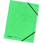 Falken Eckspanner Colorspan A4 grün Nr. 11286499 355g/m² ohne Klappen
