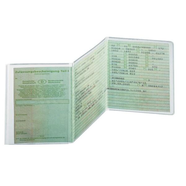 Durable Ausweishülle transparent Nr. 2142-19 210 x 105mm