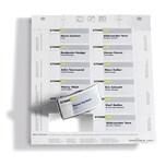 Durable Einsteckschild Badgemaker weiß Nr. 1453-02 75x40mm PA 240 Stück