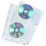 Durable CD Hülle für 4 CD's Schutzflies Nr. 5222-19 PA 5 StkabheftbarCover M
