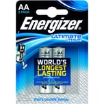 Energizer Batterie Ultimate Lithium Aa Nr. 63915415Vl91Mignon3.000Mah2Stk