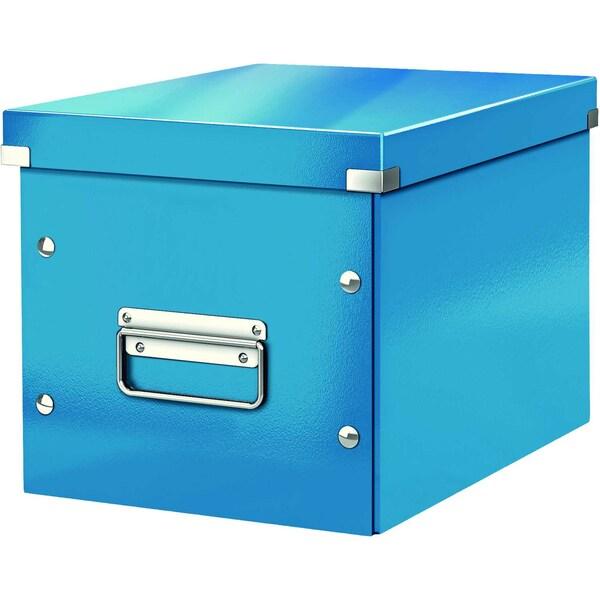Leitz Archivbox Click & Store Cube A4 Nr. 6109-36 26x24x26cm blau