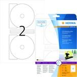 Herma CD/DVD Etikett Nr. 5115 weiß PA 50 Stück Ø 116mm Innenloch 185mm