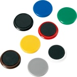 Alco Haftmagnet Ø 32mm farbig sortiert Nr. 6838V26 Haftkraft 800g PA 10St