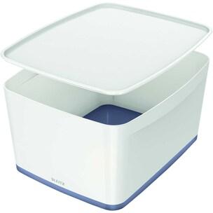 Leitz Aufbewahrungsbox MyBox grau Nr. 5216-10-01 318x198x385 18 Liter