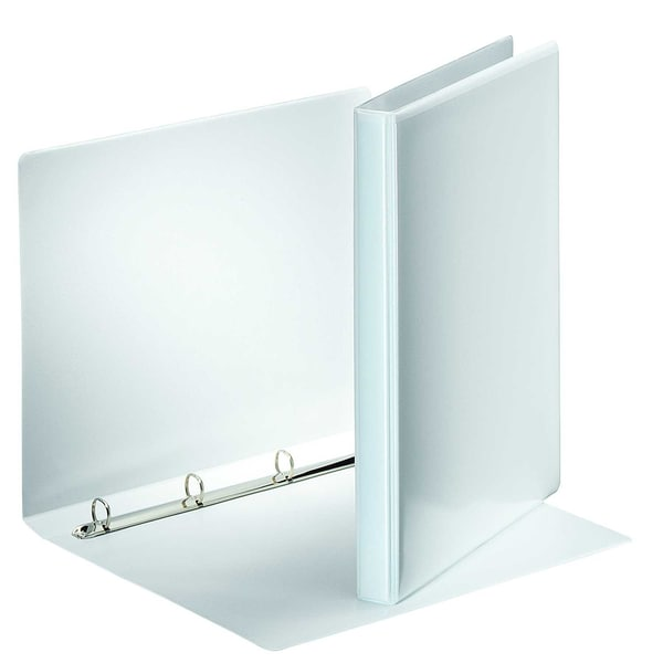 Esselte Ringbuch Präsentation A4 weiß Nr. 49701 4 Ringe 20mm PP