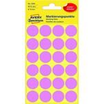 Zweckform Markierungspunkt Ø 18mm pink Nr. 3599. PA= 96Stk.