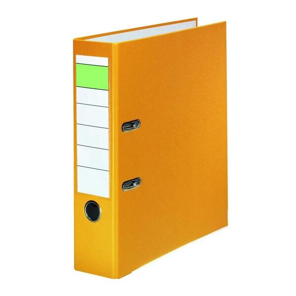Ordner A4 80mm PP gelb Nr. 10077931