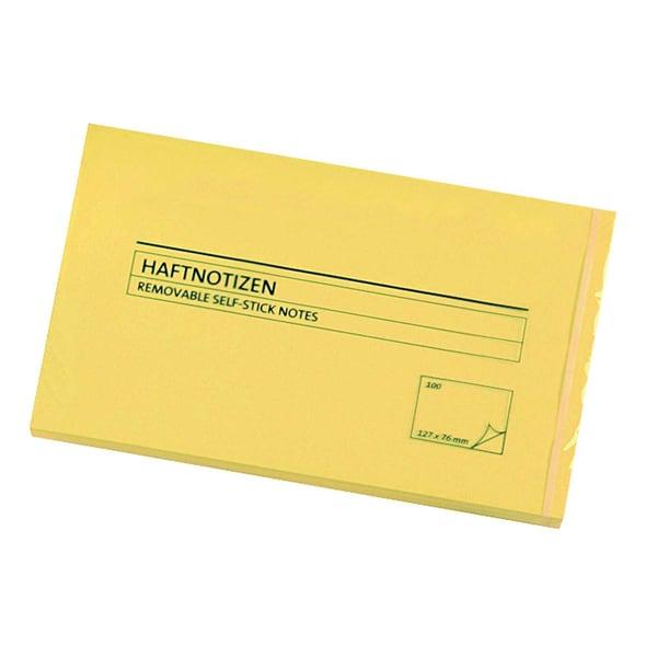 AS Haftnotiz 127x76mm gelb Block à 100 Blatt