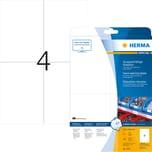 Herma Folien-Etikett Nr 4697 transparent PA= 100Stk . 105x148mm