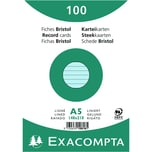 ExacomPTA Karteikarte A5 liniert blau Nr. 10818SE PA 100 Stück