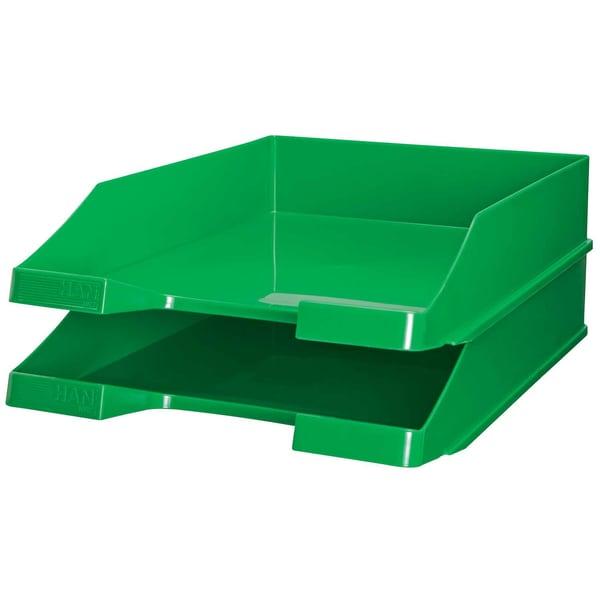 HAN Briefablage C4 hochglänzend grün Nr. 1027-X-05 stabelbar hochglänzend