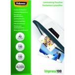 Fellowes Laminierfolie Impress A5 100mic Nr. 5351002 PA 100Stk glänzend
