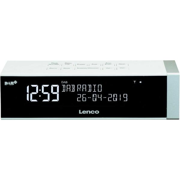 Lenco Uhrenradio CR-630 DAB+/FM 2366033 weiß