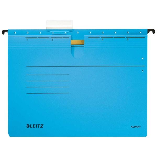 Leitz Hängehefter Alpha A4 275g blau Nr. 1984-30-35. kfm. Heft. PA= 5 St