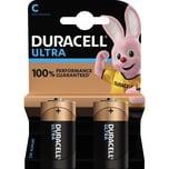 Duracell Batterie Alkaline Baby C Nr. 002852. LR14. 1.5V. PA= 2Stk.