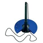 Helit Kugelschreiberständer blau/schwarz Nr. H6359093 56-cm Kugelkette