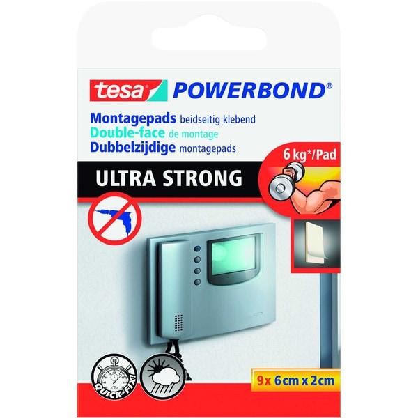 Tesa Powerstrips Powerbond weiß Nr. 55790 PA 9 Stück 20x60mm