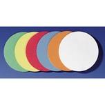 Franken Moderationskarte Kreis selbstkl. Nr. UMZS 10 99. Ø 9.5cm. PA= 300Stk.
