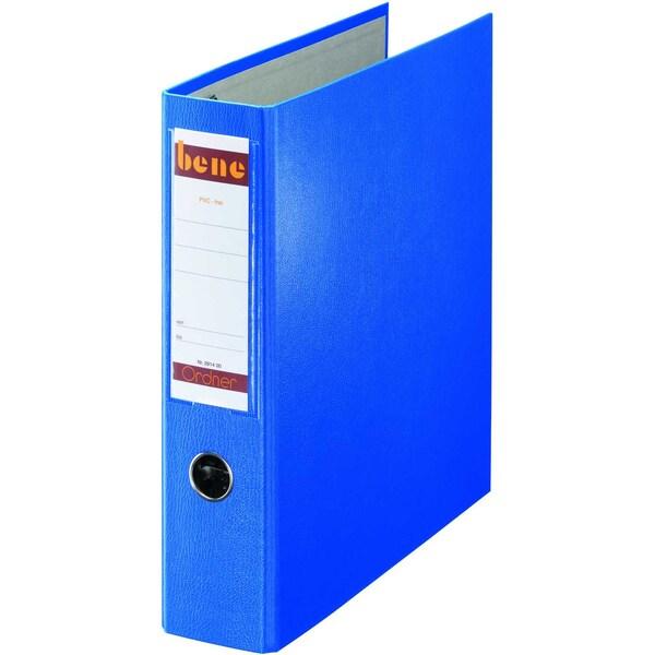 Bene Doppelordner 2x A5 75mm blau Nr. 292900BL 2x A5 quer