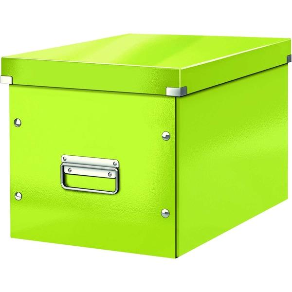 Leitz Archivbox Click & Store Cube A4 Nr. 6108-64 32x36x36cm grün