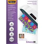 Fellowes Laminierfolie Enhance A4 80mic Nr. 53022 PA 100Stk selbstklebend