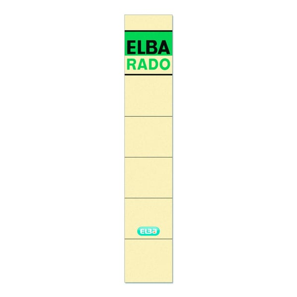 Elba Rückenschild schmal/kurz chamois 100420941 sk PA 10Sthandbeschreibbar