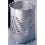 Durable Papierkorb Metall silber 15 Liter Nr. 3310-23. kratzfest. Ø 26cm