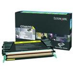 Lexmark Toner 0C734A1YG 6.000Seiten gelb