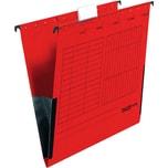 Falken Hängetasche A4 rot Nr. 11287802 PA 5St mit Leinenfrösche