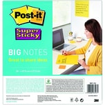 Post-it Haftnotiz Super Sticky 279x279mm Nr. BN11-EU ultragelb PA 30 Blatt