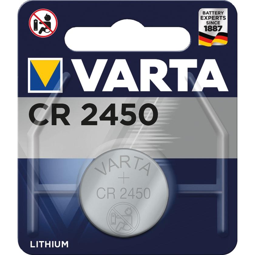 Varta Batterie Electronics Lithium Nr. 6450101401 3V Cr2450 560Mah